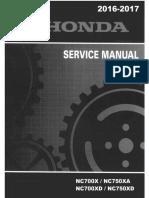 NC750 service manual