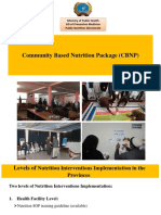 Community based nutrition cmnp