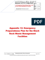 Appendix 12 Emergency Preparedness Plan