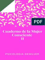 Cuaderno de La Mujer Consciente II