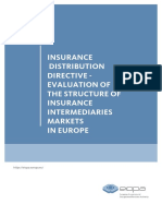 IDD Evaluation of Intermediary Markets