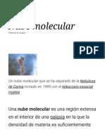 Nube Molecular