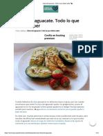 Dieta Del Aguacate
