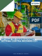 Informe Obs. Fire Pump - Plat. ES1