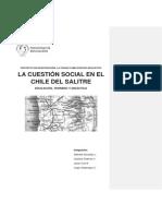El Salitre y la cuestión social en Chile.