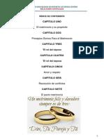 BOSQUEJO Curso Matrimonial