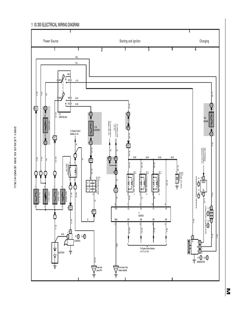 2001 is300 wiring diagram | automotive technologies | mechanical engineering  scribd