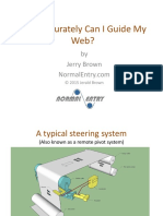 How Accurately Can I Guide My Web - Ppt