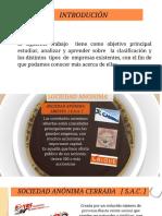 Clases de Empresa Diego Urquiaaga