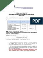 Aranceles Propuesta 14 201118 Luz
