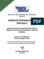 Acuerdo Entre México, Eua y Canadá