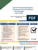 5.Dr_. Josué VegaPlan Nacional de Drogas 2017-2021