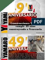 Armando Iachini - Construcciones Yamaro Cumple 49 Años Construyendo a Venezuela
