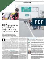 """Finalista de la categoría Reportaje Regional 2018 - """"El éxodo venezolano en la frontera"""""""