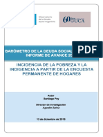 2018 Observatorio Doc Pobreza Indigencia Eph Indec Odsa Uca