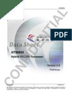 novatek nt96655 data sheet