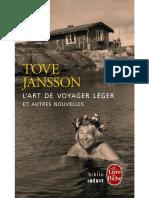 L'Art de Voyager Leger Et Autre - Jansson