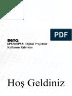 BENQ830 Projector_manual TR