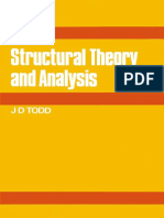 Todd J. D., 1974, Structural Theory and Analysis