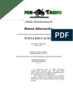 Krishnamurti, Jiddu - Nueva Educacion.doc