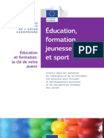 Education Training Youth and Sport Fr