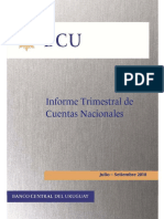 Informe de Cuentas Nacionales Segundo Trimestre 2018
