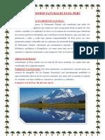 Patrimonios Naturales en El Perú