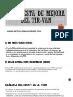 Propuesta DE MEJORA DEL TIR-VAN.pptx