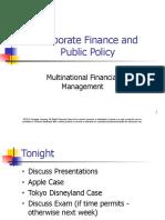 Class 13 Corporate Finance