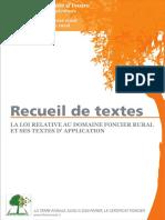 Recueil Des Textes Ivoiriens