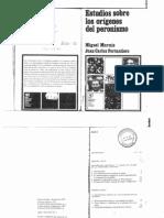 Murmis y Portantiero - Estudios Sobre Los Orígenes Del peronismo