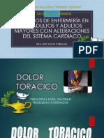 Dolor Toracico, Angina de Pecho , ICC