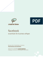 Creative Brew's ePaper 'facebook, essentials for business'
