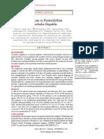 Prednisolone or Pentoxifylline  for Alcoholic Hepatitis.doc