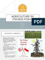 agriculture in stevens point