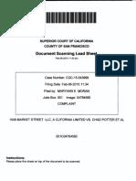 1049 Market v Potter 2015 Contract