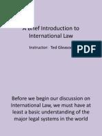Intro International Law