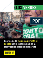 Pañuelos Verdes Amnistía Internacional