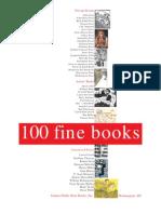 100 Fine Books, Winter 2004