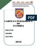 Carpera de Tutoria 2016 Completo