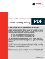 Efisiensi Generator AGN 182