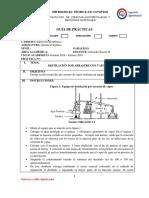 Práctica 1. Destilación Por Arraste de Vapor
