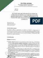 Resolución Félix Moreno