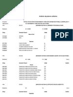 Especificaciones Técnicas San Pedro