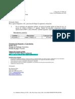 Cotización Nº 0945-18 C&T Representaciones S.a.