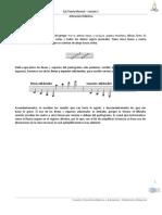 Eje Teoría Musical - Lección 1