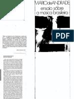 ANDRADE Mario de Ensaios Sobre a Musica Brasileira PDF