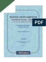 Biblia Interlineal Griego Espac3b1ol Completa