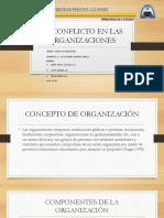 El Conflicto en Las Organizaciones