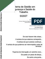 SISTEMA DE GESTÃO EM SEGURANÇA E SAÚDE DO TRABALHO